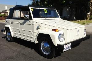 1973 Volkswagen Thing Base 1.6L