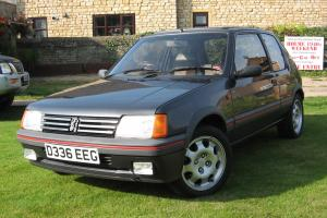 Peugeot 205 1.9 GTi 1987 One Owner Service