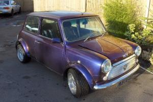 classic austin mini 1430cc one off unique flip paint needs tlc