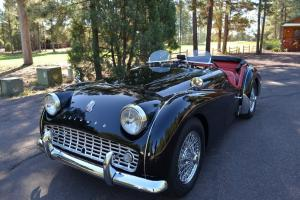 1962 Triumph TR3B Black Beauty Photo