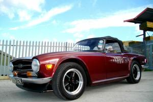 1975/N Triumph TR6 2500cc Manual 150, Damask