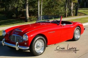 Austin healey 100 6 convertible  BN6 4speed with overdrive