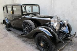 1935 Rolls Royce, 20/25, Rat Rod, Hot Rod, Classic, old school, bomb, sled,