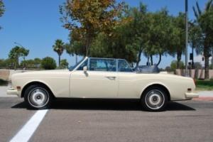 1989 ROLLS-ROYCE CORNICHE CONVERTIBLE IMMACULATE, IN EXCELLENT CONDITION Photo