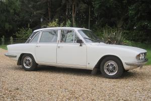 TRIUMPH 2.5 PI WHITE, 1972 TAX EXEMPT  Photo