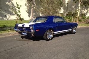 Ford Mustang 1968 2D Hardtop 3 SP Automatic 4 7L Carb