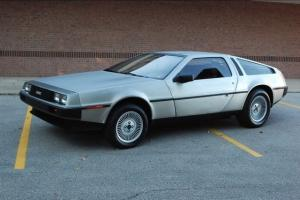 1981 DeLorean DMC-12 Gullwing 5 Speed Low Miles