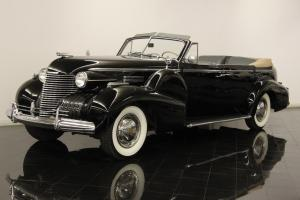 1940 Cadillac Fleetwood Series 75 Convertible Sedan Restored One of 45