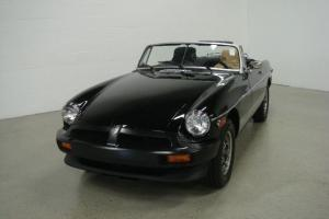 1979 MG MGB CONV - BLACK/TAN - 15K MILES!! RESTORED/ DOCUMENTED TO PERFECTION!! Photo