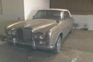 VERY RARE 1968 BENTLEY MULLINER CONVERTIBLE FOR RESTORATION. ONE OF 27 RHD.  Photo