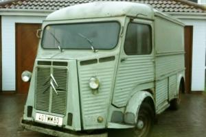 Citroen H HY Van 1968 for Restoration with lots of Spare Parts