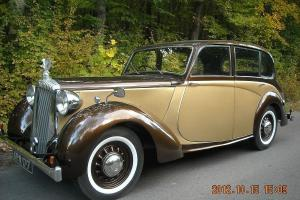 DAIMLER DB18 , SALOON , OLDTIMER Bj. 1948 , MOTOR 2522CC, PRESELECTION GETRIEBE