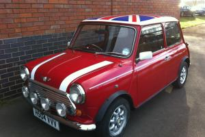 1990 ROVER MINI COOPER RED/WHITE  Photo