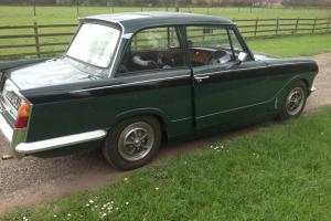 Triumph Vitesse 2.0 Saloon with Overdrive, usable classic, ready to use