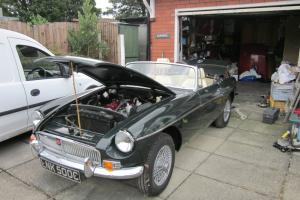 MGB ROADSTER 1965 JAGUAR RACING GREEN 1.8  Photo