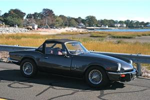 "1979 TRIUMPH SPITFIRE ""CONCOURSE RESTORATION, BETTER THEN NEW!!!"""