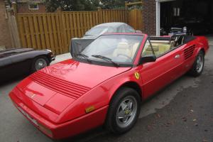 87 FERRARI MONDIAL 3.2 CONVERTIBLE 48K ORIG MILEs FULL SERVICE JUST DONE NEW TOP