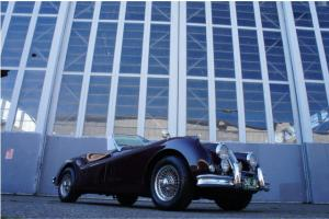 1955 JAGUAR XK140 MC OTS ROADSTER CONVERTIBLE PAST RESTORATION Photo