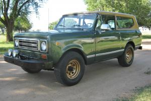 1977 International Scout II - 76K Original miles - 345 V8, 4X4