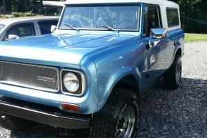 1970 International Harvester Scout 800A Frame-off Restoration by Anything Scout