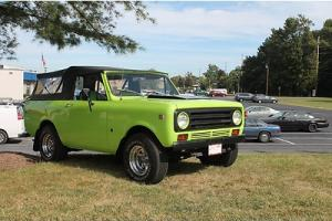 Fully Restored 1972 International Harvester Scout II 4 x 4