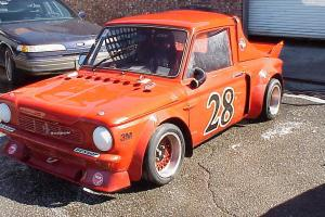 NZ vuilt Sunbeam Imp rally race car