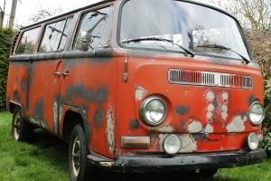 VW CAMPER - PROJECT - USA IMPORT - EARLY BAY WINDOW - 1969 - TIN TOP VOLKSWAGEN