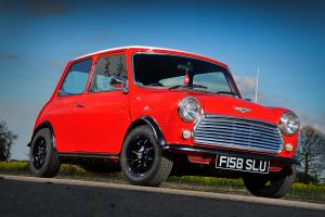 AUSTIN ROVER MINI 1000 CITY E RED 1989
