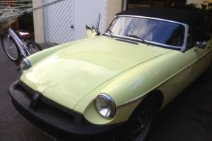 1976 MGB Roadster lovely cared for condition. Very reluctant sale Photo
