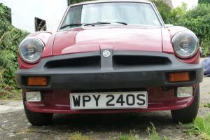 MGB GT 1978-SAME LADY OWNER 31 YEARS-RESTORED-