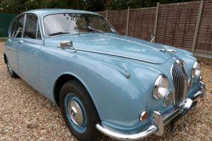 JAGUAR 240 MOD SALOON - BEAUTIFUL CAR - INTERESTING HISTORY