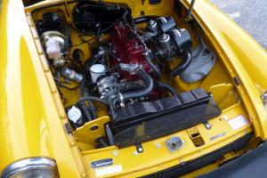 MGB ROADSTER recently rebuilt stunning in Inca Yellow  Photo