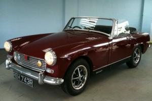 MG Midget 1.5 sports convertible  Photo