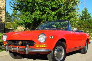 1974 Fiat 124 Sport Spider 1800 Roadster *ONLY 15,000 ORIGINAL MILES*