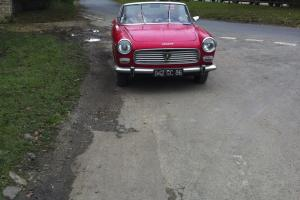 Peugeot 404- 1965-Red