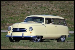 1951 NASH CUSTOM 2DR STATION WAGON STREET ROD