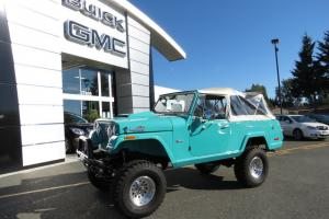 1971 JEEP COMMANDO JEEPSTER 4X4 RESTORED W/TONS OF RECEIPTS ! SUPER SOLID !
