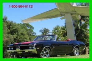 1969 OLDSMOBILE CUTLASS SUPREME CONVERTIBLE 442 MUST SEE TO BELIEVE RARE FIND FL