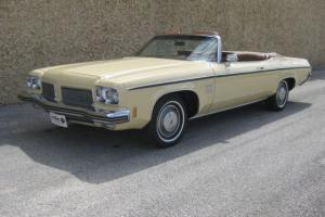 1973 Oldsmobile 88 Convertible 2,200 Actual Miles,True Time Capsule, Make Offer