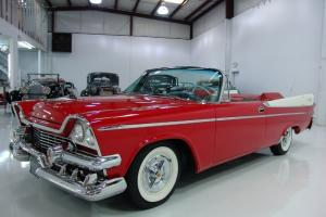 1958 DODGE CORONET SUPER D-500 CONVERTIBLE, TOTAL GROUND UP RESTORATION IN 2007!