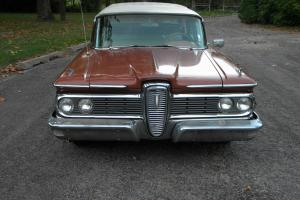 59 Edsel Villager 6 passenger station wagon