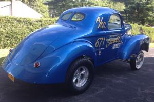 1941 Willys Gasser Coupe Muscle Drag Car