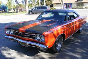 1969 Plymouth Sport Satellite GTX Looks with Road Runner Perfomance