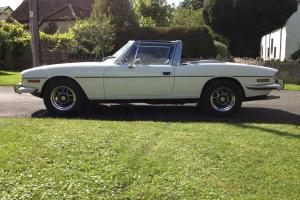TRIUMPH STAG MK 1 AUTO WHITE  Photo