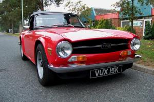 STUNNING TR6  Photo