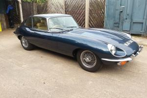JAGUAR XK E-TYPE 1969 SERIES 2 FHC MINT EXAMPLE