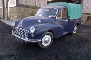 Morris MORRIS MINOR PICK-UP Pickup Blue eBay Motors #200975217612