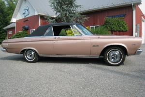 1965 Plymouth Satellite Convertible 426 CI Street Wedge Photo