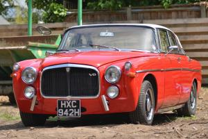 Hotrod Rover P5b Coupe,300hp 3.9 V8, TVR ported heads Kent cams.