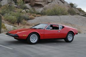 Detomaso Pantera 1973 One Family Owner Car Original Arizona Car with Paperwork!